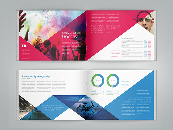 top 10 annual report ideas for inspiration